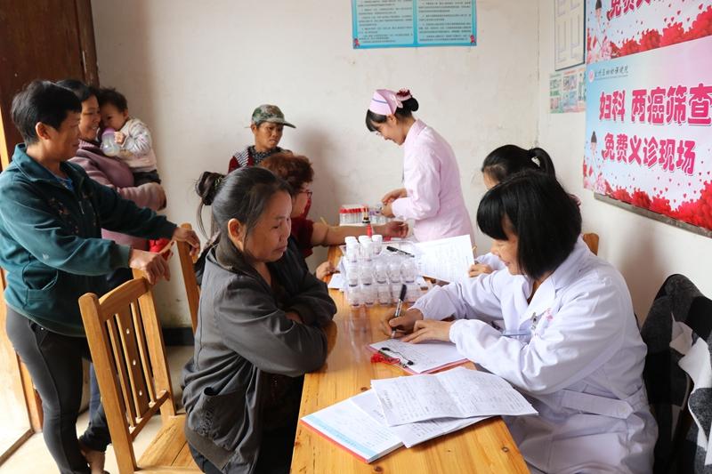 """宜州區:免費""""兩癌""""檢查 2萬婦女受益"""
