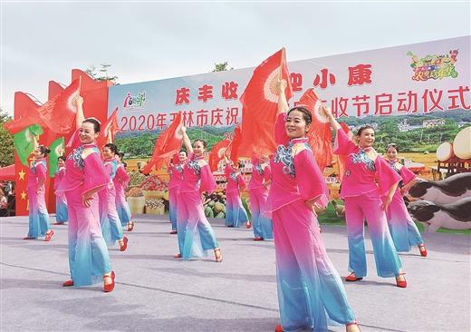 玉林市舉行慶祝中國農民豐收節活動