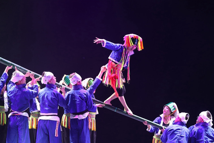 """16個舞蹈節目在玉林展演 舞蹈""""桂軍""""向 """"荷花獎""""發起衝刺"""