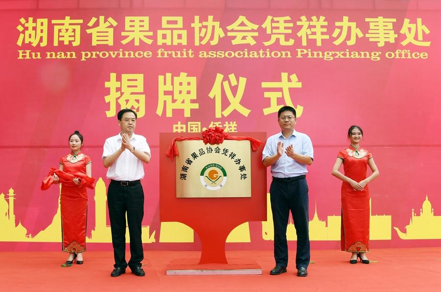 湖南果品協會與憑祥聯手打造水果巨艦
