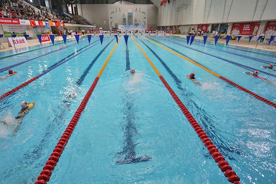 2020年廣西遊泳超級聯賽(柳州站)舉行