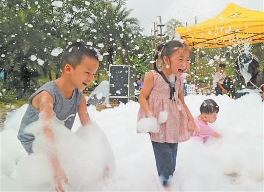 桂平舉辦西山泉海洋萌寵夢幻兒童話劇文化節