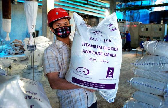 廣西藤縣做強鈦白産業 年産能12萬噸