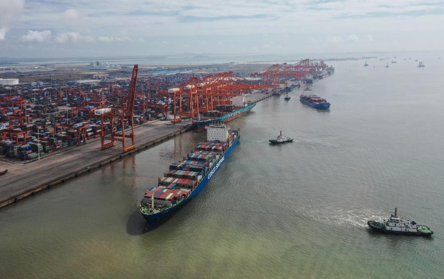 廣西欽州港集裝箱吞吐量增勢迅猛