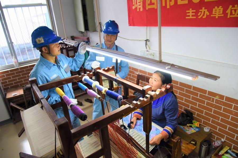 廣西靖西:指尖技藝傳承千年傳統文化