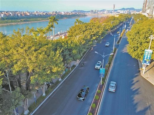 梧州市積極實施道路提升改造工程