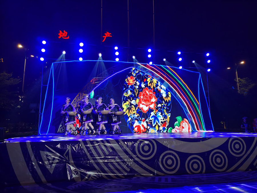 橫縣民俗文化體育大展演精彩上演
