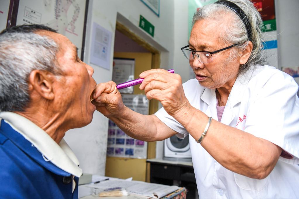 74歲黨員村醫王秋姣的初心與堅守