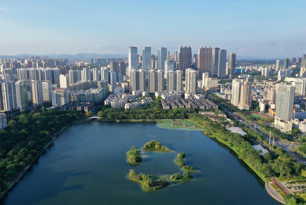 廣西南寧:中國—東盟博覽會永久舉辦地的生態之美