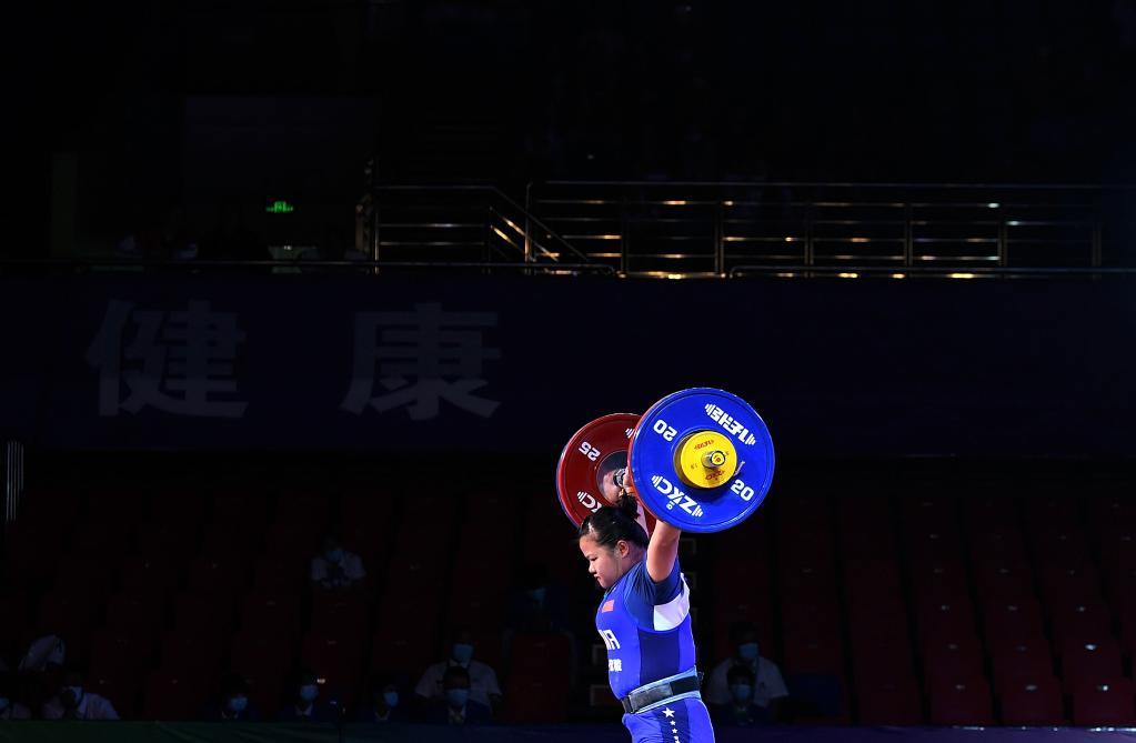 舉重——女子87公斤級決賽賽況
