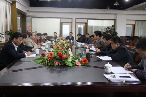 玉鐵高速公路項目2012年上半年跟蹤審計溝通會召開