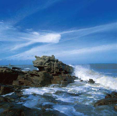 江山半島怪石灘